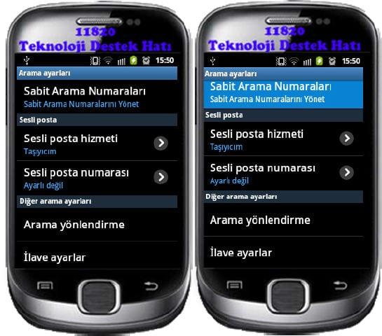 Android, FDN, FDN Nedir, FDN Açma, FDN Kapatma,