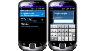 Android, FDN, FDN Nedir, FDN Açma, FDN Kapatma, Android FDN Nedir Nasıl Ayarlanır,
