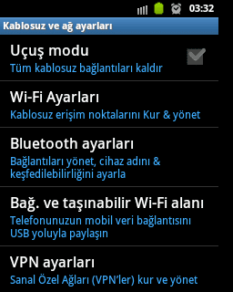 Android Hotspot Ayarları, Android Taşınabilir Wi-Fi Alanı Ayarları,