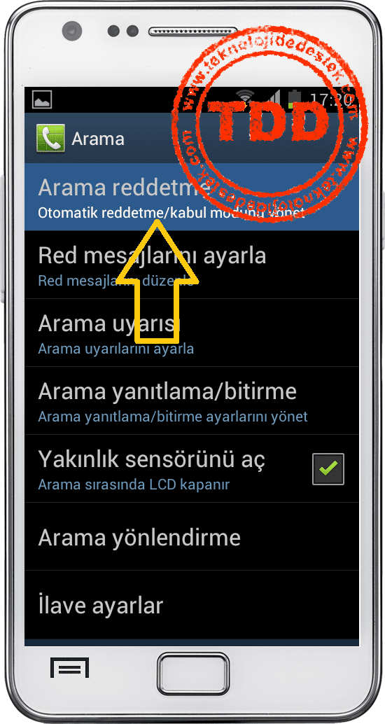 Android ve IPhone Numara Engelleme