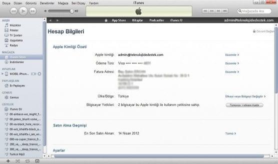 Apple ID, Apple ID Kredi Kartı Bilgisi Eklemek, Kredi Kartı, Apple,