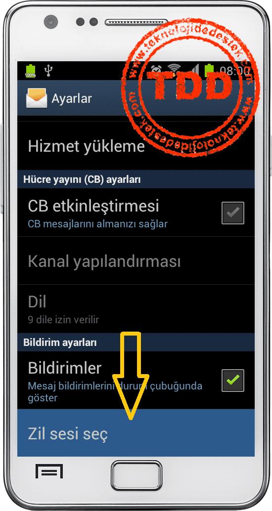 Android Mesaj mp3 Koymak, Android Zil Sesi, Android Zil Sesini Değiştirmek, Android Mesaj Sesi Değişmek,