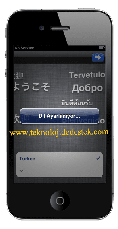 iOS ilk Kurulum, iOS Kurulum Yardım. iOS 5.1 Nasıl Kurulur. iPhone ilk Kurlum