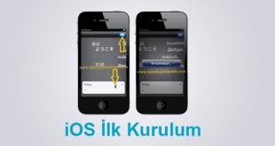 ios-ilk-kurulum