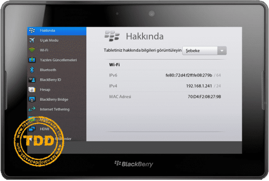 BlackBerry, PlayBook, Tablet, TTNeT PlayBook,