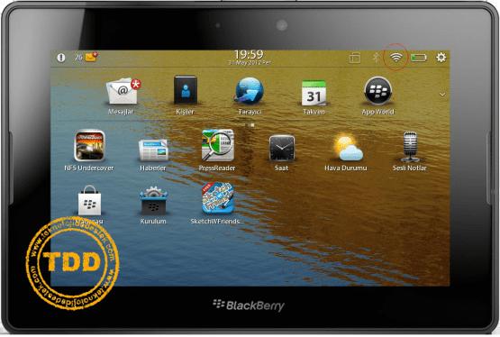 BlackBerry Playbook HotSpot internet Baglanti Sorunu 28