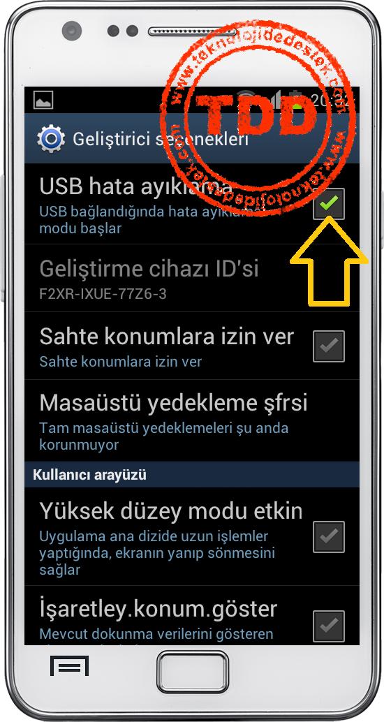 Android USB Hata Ayıklama Açma, Android USB Hata Ayıklama Modunu Açmak, ICS USB Hata Ayıklama Modunu Açmak, USB Hata Ayıklama Modu,