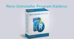 Revo Uninstaller Program Kaldırıcı