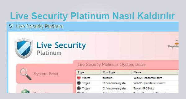 Live Security Platinum Nasıl Kaldırılır