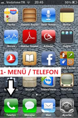 Arama Kaydı, iPhone, iPhone Cevapsız Çağrıları Silmek, iPhoneArama Kaydını Silmek,
