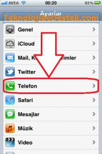 iPhone Arama Yönlendirme, iPhone Arama Bekletme, iPhone Numara Gizleme, iPhone Çağrı Bekletme,