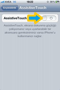 iPhone, Assistive Touch, Apple, Assistive Touch Nedir, Assistive Touch Nasıl Kullanılır,