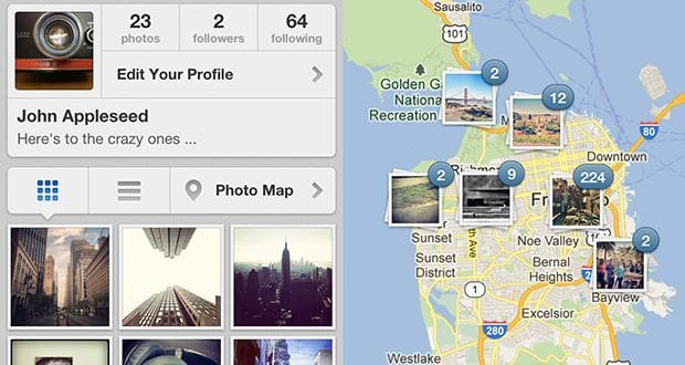 fotoğraf haritası, instagram 3.0, Instagram nasıl kullanılır, photo map,