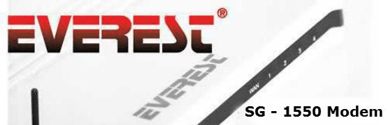 Everet SG-1550 Modem Kurulumu 00