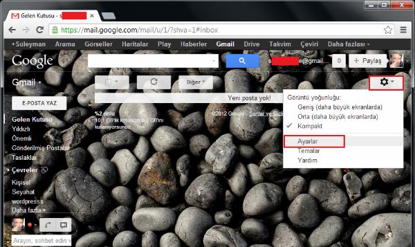 gmail outlook ayarları, outlook gmail ayarları, outlook gmail kurulumu,