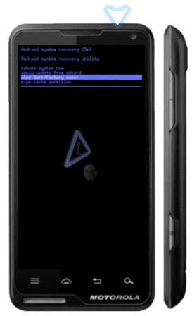 Motorola Motoluxe Hard Reset 14