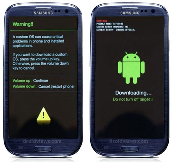 Samsung Galaxy S3 Download Modu