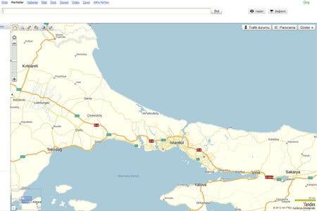 yandex, yandex harita, yandex maps, yandex panorama, yandex yol durumu,