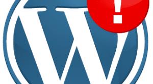 wordpress-hata