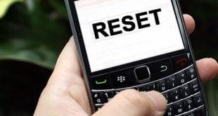 BlackBerry Hard Reset 03