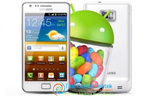 Samsung Galaxy S II Android 4.1.2 Güncellemesi1