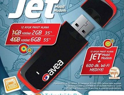 avea jet mobil modem kurulumu ve TT avea jet modem kurulumu nasıl yapılır.