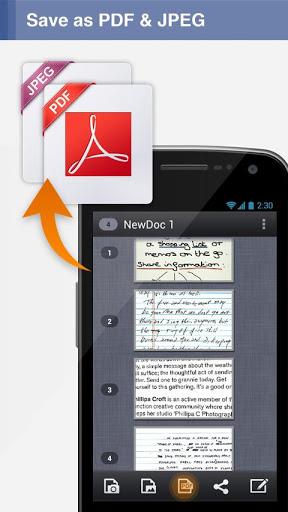 Android için Dosya Tarama Uygulaması - CamScanner (1)