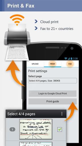 Android için Dosya Tarama Uygulaması - CamScanner (3)