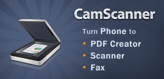Android icin Dosya Tarama Uygulamasi - CamScanner