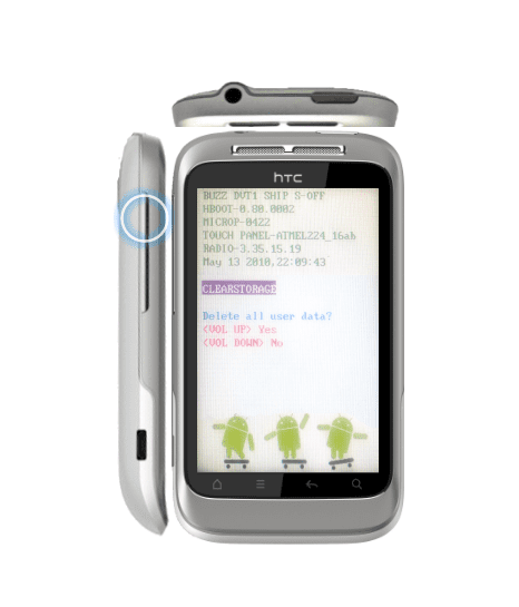 HTC Wildfire S Hard Reset 05