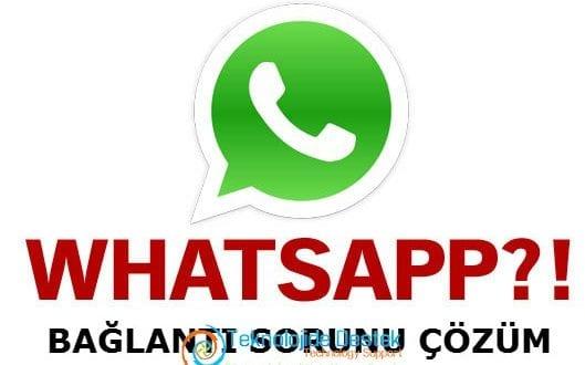 Nokia Whatsapp Bağlantı Sorunu Çözüm
