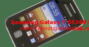 Samsung Galaxy Y S5360 Hard Reset2