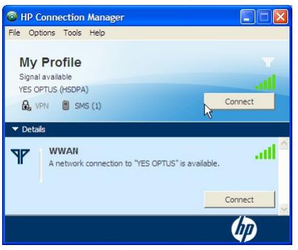 HP Connection Manager APN Internet Ayarlari (2)