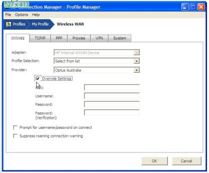 HP Connection Manager APN Internet Ayarlari (6)