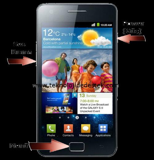 Samsung Galaxy S 2 Android 4.1.2 Güncelleme
