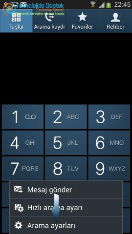 Android Numara Gizleme Gosterme (3)