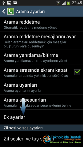 Android Numara Gizleme Gosterme (4)