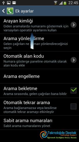 Android Numara Gizleme Gosterme (5)