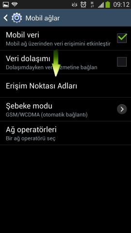Samsung i9500 Galaxy S4 Internet Ayarlari Turkcell Vodafone Avea (6)