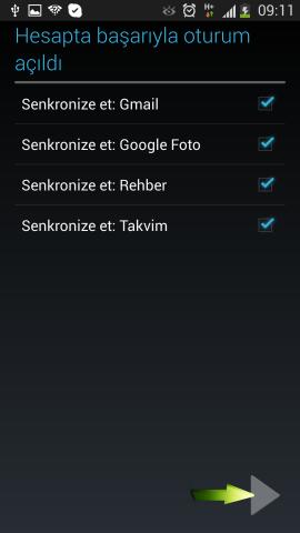 Samsung i9500 Galaxy S4 Mail Ekleme (11)