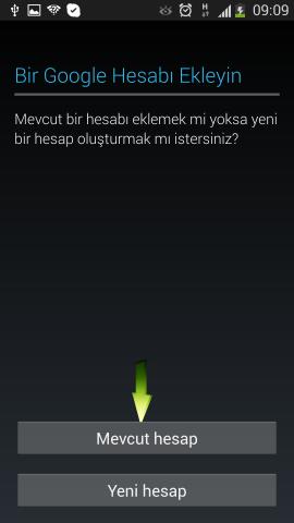 Samsung i9500 Galaxy S4 Mail Ekleme (6)