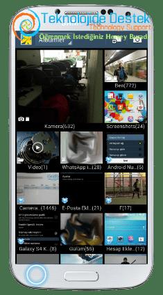 Android Telefonlarada Galeri Senkronizasyonu (3)