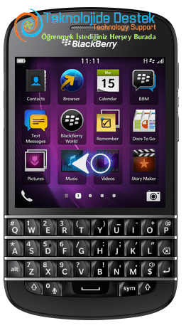 BlackBerry Q10 Exchange Mail Kurulumu (1)