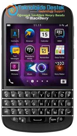 BlackBerry Q10 Exchange Mail Kurulumu (1)