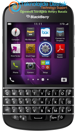 BlackBerry Q10 Exchange Mail Kurulumu (2)