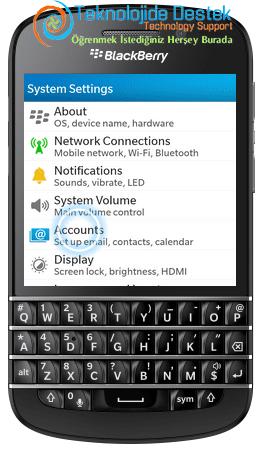 BlackBerry Q10 Exchange Mail Kurulumu (3)