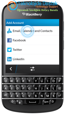 BlackBerry Q10 Exchange Mail Kurulumu (5)