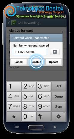 Samsung i9500 Galaxy S4 Android Cağri Yonlendirme (10)