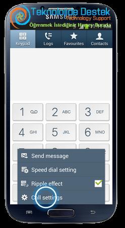 Samsung i9500 Galaxy S4 Android Cağri Yonlendirme (3)