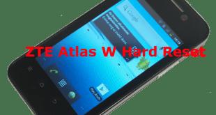 ZTE Atlas W Desen Kırma,ZTE Atlas W Sıfırlama,ZTE Atlas W Model Kilidi,ZTE Atlas W Şifre Kırma,